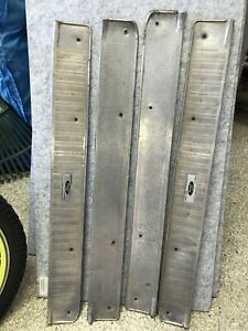 1963 Ford Fairlane 4 Door Post Step Plates
