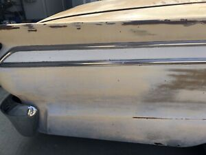 1963 Ford Fairlane 500 4dr Rh Passenger Quarter Inch Chrome Trim Molding Spear