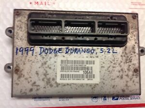 1999 Dodge Durango 5 2l Ecu Ecm Pcm Engine Computer 56040106ae
