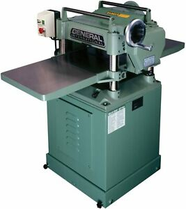 General International 30 125hcm1 3 Hp 15 inch Planer With Helical Cutterhead