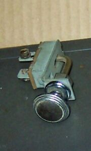 1934 Delco On off Dash Switch