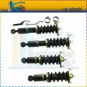 For 1990 2005 Mazda Miata Coilovers Shock Suspension Spring Kits Adj Height