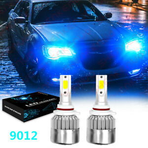 For Chrysler 200 300 2011 2015 2x 8000k Led Headlight Kit High low Beam Bulbs