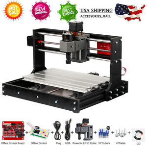 Cnc 3018 Pro Diy Router Mini Engraving Machine Kit Grbl Offline Control H8o4