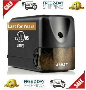 Afmat Electric Pencil Sharpener Heavy Duty Classroom Pencil Sharpener