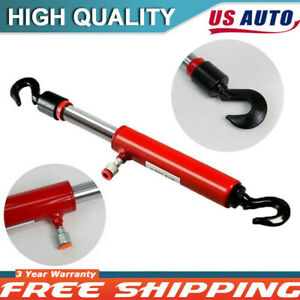 Hydraulic 10 Ton Porta Power Pull Back Ram Frame Machine Puller Body Shop Red
