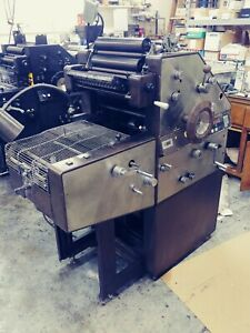 Ab Dick 9840 Offset Printing Press