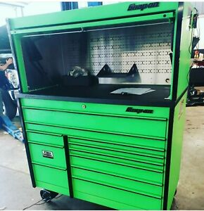 Snapon Kmp1022zbj7 Toolbox With Hutch And Light