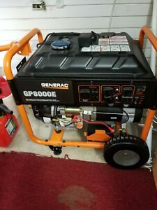 Portable Portable Electric Start Rv Gas Power Generator 10 000 Watts