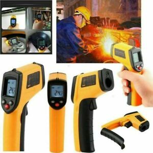 Digital No Touch Lcd Ir Laser Industrial Infrared Temperature Thermometer Gun