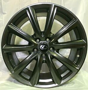 19 Hyper Dark Rims Gs F Sport Style Fits Lexus Is250 Is300 Is350 Awd W235