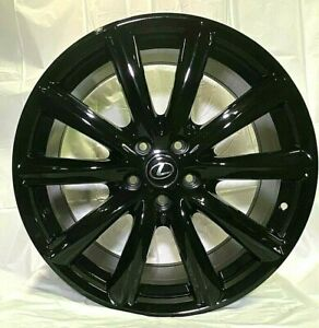 19 Gloss Black Rims Gs F Sport Style Fits Lexus Is250 Is300 Is350 Awd W235
