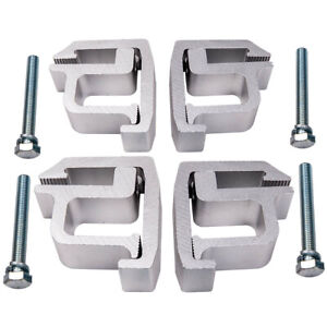 4pcs Clamps Truck Cap Topper Camper Shell Mounting Clamps High Quality