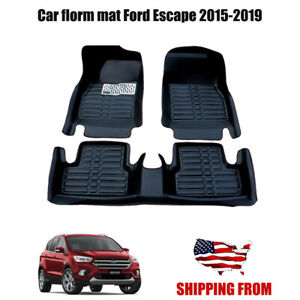 Car Floor Mats Front Rear Liner Xpe Waterproof Mat For Ford Escape 2015 2019