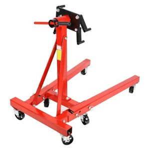 Red Engine Stand 2000lbs Capacity Rotation Head Mounting Stand Brack