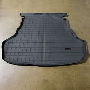 New For 15 17 Toyota Camry Floor Mat Cargo Liner Trunk Pad Weathertech Black