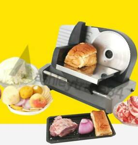Electric Meat Slicing Shredding Cutting Machine Food Cutterslicers Multifunction