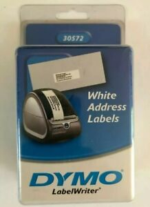 Dymo Labelwriter Address Labels 1 1 8 X 3 1 2 White 260 Labels roll 2 Pack 520