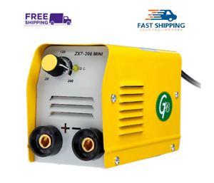Mini Electric 220v Zx7 200 Minigb 200a Welding Machine Igbt Dc Inverter Arc Mma