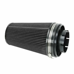 4 Cold Air Intake Filter Only For 99 06 Gmc Chevy V8 4 8l 5 3l 6 0l Black