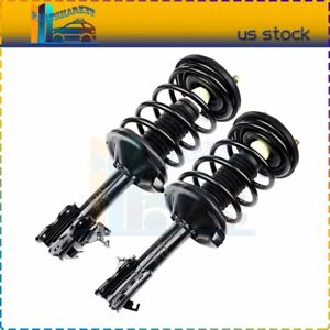 For 2002 03 Nissan Maxima Front Quick Loaded Struts Shock W Spring Assembly 2