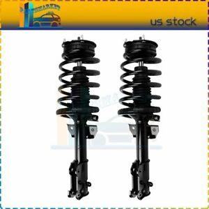 For 2005 2010 Ford Mustang 2 Pieces Front Complete Struts Spring Mount Assembly