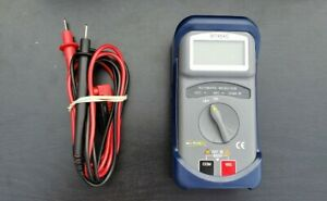 Blue Point Mt454c Auto Ranging Digital Multimeter With Case And Leads