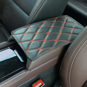 Universal Car Armrest Pad Cover Auto Center Console Box Leather Cushion Mat Pads