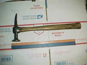 Vtg Auto Body Proto 1428 Pick Hammer Shop Hand Anvil Dolly Metal Working Tool