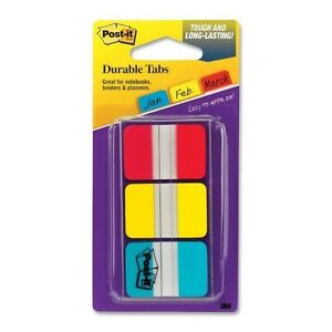 Post it Durable Tabs 36 Count