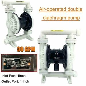Air operated Double Diaphragm Transfer Pump 30gpm For Chemical Industrial Use