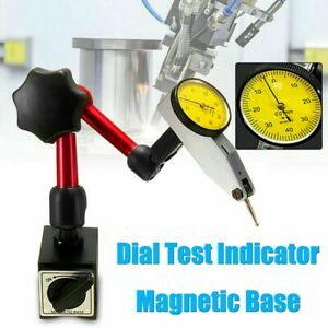 Flexible Magnetic Metal Base Holder Stand Dial Test Indicator Metalworking Tool