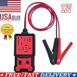 12v Us Electronic Automotive Relay Tester For Cars Auto Go Battery Checker Usa