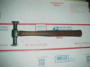 Vtg Auto Body Blue Point Bf 615 Reverse Curve Hammer By Snap On Shop Dolly Tool