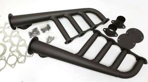 Sbf Small Block Ford Black Painted Lake Style Lakester Headers Rat Rod 289 302