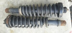 2pc 96 00 Honda Civic Front Struts Used Shocks W Coil Springs Complete