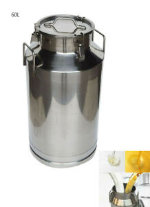 Free Shipping Brand New 15 8 Gallon 60l 304 Stainless Steel Milk Pail