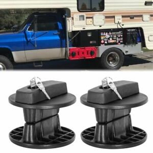 30l Fuel Gas Tank Mount Bracket Lock Jerry Can Container Gasoline Pack Holder