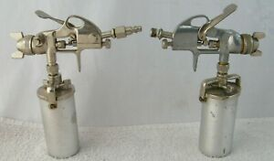 Campbell Hausfeld Spray Guns Dh5500 Co97 Ifs550 Co805 Lot Of 2