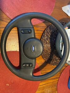87 88 Ford Mustang Gt Lx Original Steering Wheel Fox Body
