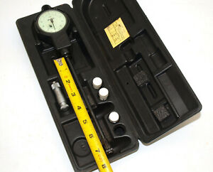 Sunnen 495 750 X 0001 Dial Bore Gage Set With 7 Reach Ga 4141 Tested