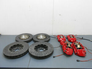 2010 11 12 15 Ferrari 458 Italia Brembo Carbon Ceramic Rotors Calipers 6187