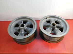 Vintage Authentic Cragar Gt Mag Wheels Rat Rod Chevy Ford Dodge Slotted Wheels
