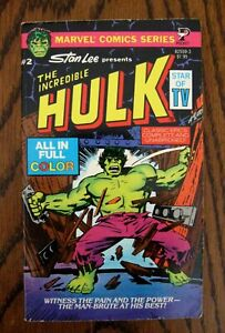 The Incredible Hulk #2 Marvel Comics Stan Lee Pocket Paperback 1979 Full Color $13.25