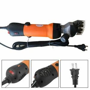 500w Adjustable Speed Electric Sheep Shearing Clipper Goat Wool Cutting Tool Us