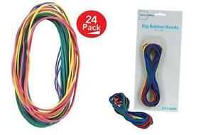 Large Big Rubber Bands 24 pack