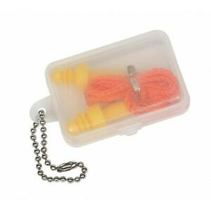Allen Ear Plug Deluxe With Cord And Case 1 pair 2293