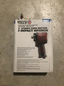 New Matco Tools 1 2 Stubby Impact Wrench Mt2765
