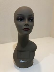 Realistic Mannequin Head For Wigs jewelry hats e mp015