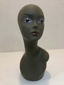 Realistic Mannequin Head For Wigs jewelry hats e mp027